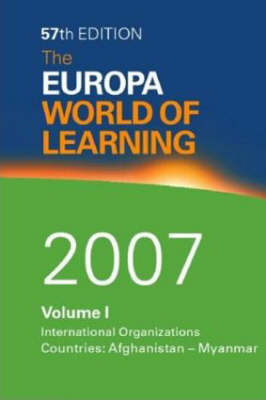 The Europa World of Learning: 2007