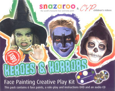 Heroes and Horrors: Face Painting Creative Play Kit