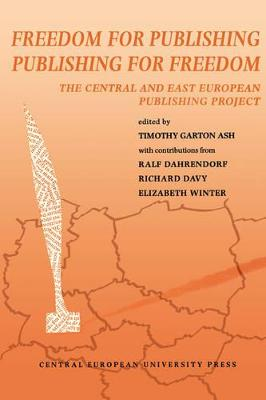 Freedom for Publishing, Publishing for Freedom: Central and East European Publishing Project