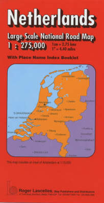 Netherlands National Road Map