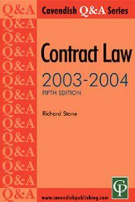 Contract Law Q&A: 2003-04