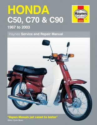 Honda C50, C70 and C90 (1967-99) Service and Repair Manual