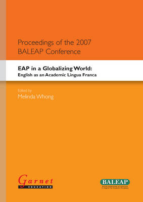 EAP in a Globalising World - English as an Academic Lingua Franca