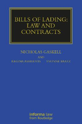 Bills of Lading: Law and Contracts