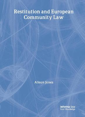 Restitution and European Community Law
