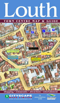 Louth Town Centre Map and Guide