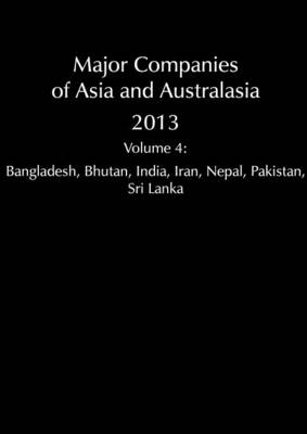 Major Companies of Asia and Australasia 2013 Vol 4