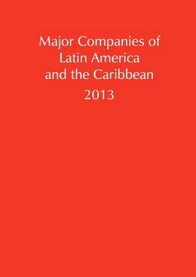 Major Companies of Latin American and the Caribbean 2013