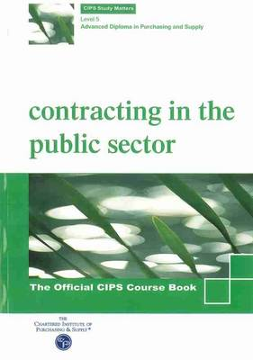 Contracting in the Public Sector