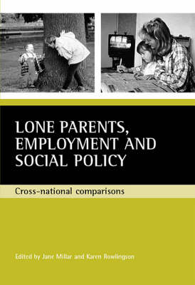 Lone parents, employment and social policy: Cross-national comparisons