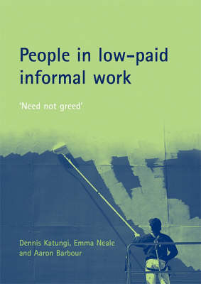 People in low-paid informal work: 'Need not greed'