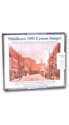 Middlesex 1891 Census Images: Indexed by Area and Indexed by Street for Areas of High Population