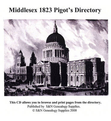 Middlesex 1823 Pigot's Directory