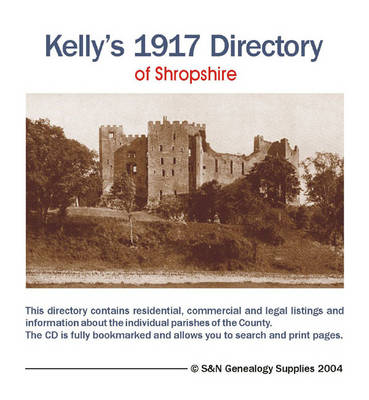 Kelly's 1917 Directory of Shropshire