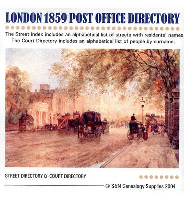 London 1859 Post Office Directory