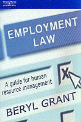 Employment Law: A Guide for Human Resource Management
