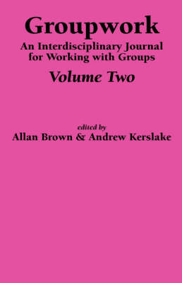 An Interdisciplinary Journal for Working with Groups: Pt. 2