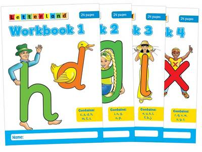 Letterland Workbooks: No. 1-4