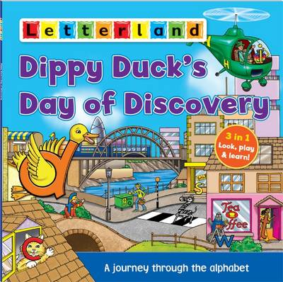 Dippy Duck's Day of Discovery: A Journey Through the Alphabet