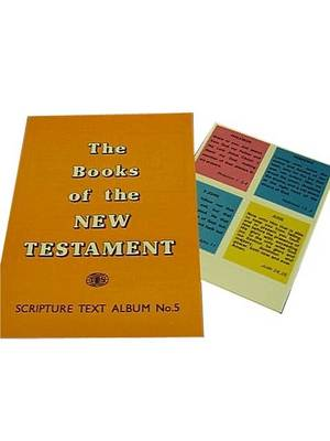 New Testament Books and Texts: Children's Gummed Text Album 5