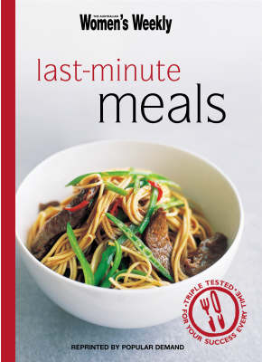 Last-Minute Meals