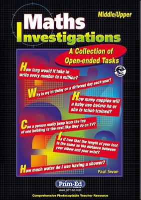 Maths Investigations: A Collection of Open-ended Tasks