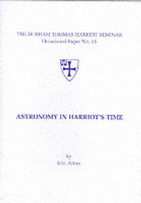 Astronomy in Harriot's Time