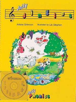 Jolly Jingles (book and CD): in Precursive Letters (BE)