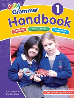 The Grammar 1 Handbook: in Precursive Letters (BE)