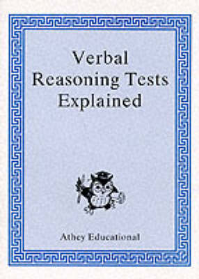 Secondary Selection Porfolio: Verbal Reasoning Tests Explained