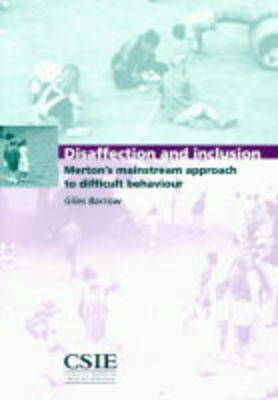 Disaffection and Inclusion: Merton's Mainstream Approach to Difficult Behaviour
