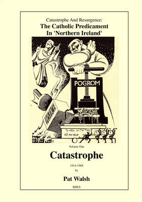 Catastrophe and Resurgence: The Catholic Predicament in Northern Ireland: Volume one: Catastrophe 1914-1968