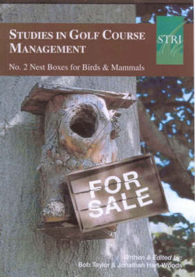 Studies in Golf Course Management: No. 2: Nest Boxes for Birds and Mammals