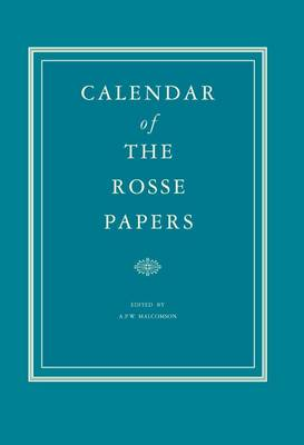 Calender of the Rosse Papers