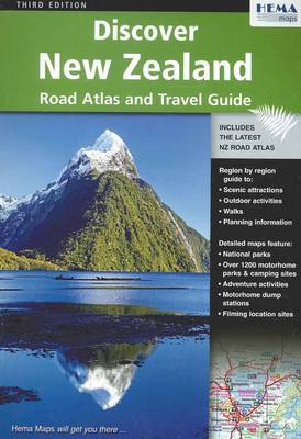 Discover New Zealand Atlas and Guide