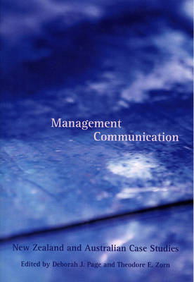 Management Communication: New Zealand and Australian Case Studies