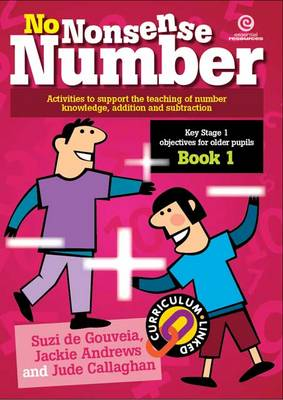 No Nonsense Number: KS 1 for Older Pupils Bk 1