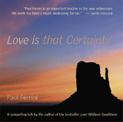 Love is That Certainty CD