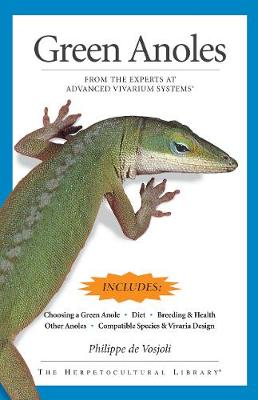 Green Anoles: From the Experts at Advanced Vivarium Systems
