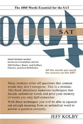 SAT 4000: The 4000 Words Essential for the SAT