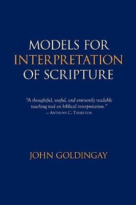 Models for Interpretation of Scripture