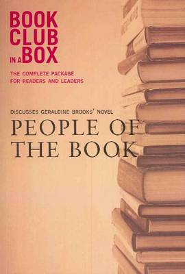 Bookclub-in-a-Box Discusses 'People of the Book', the Novel by Geraldine Brooks