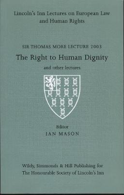 Sir Thomas More Lectures 2003: 2003