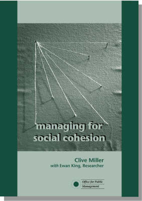 Managing for Social Cohesion