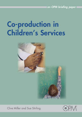 Co-production in Children's Services