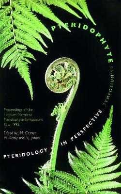 Pteridology in Perspective: Pteridophyte Symposium '95 Proceedings of the Holttum Memorial Pteridophyte Symphosium, Kew, 1995