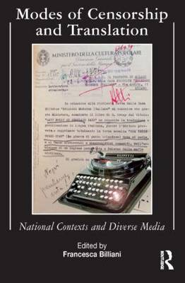 Modes of Censorship: National Contexts and Diverse Media