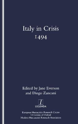Italy in Crisis: 1494