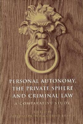 Personal Autonomy, the Private Sphere and Criminal Law: A Comparative Study