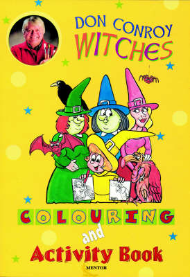 Witches' Colouring Book
